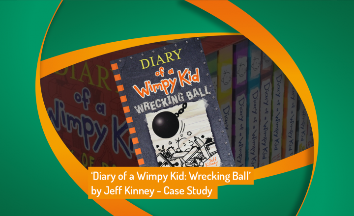 'Diary of a Wimpy Kid: Wrecking Ball' by Jeff Kinney Launch