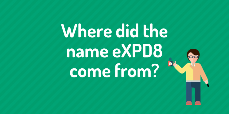 Where did the eXPD8 name come from?