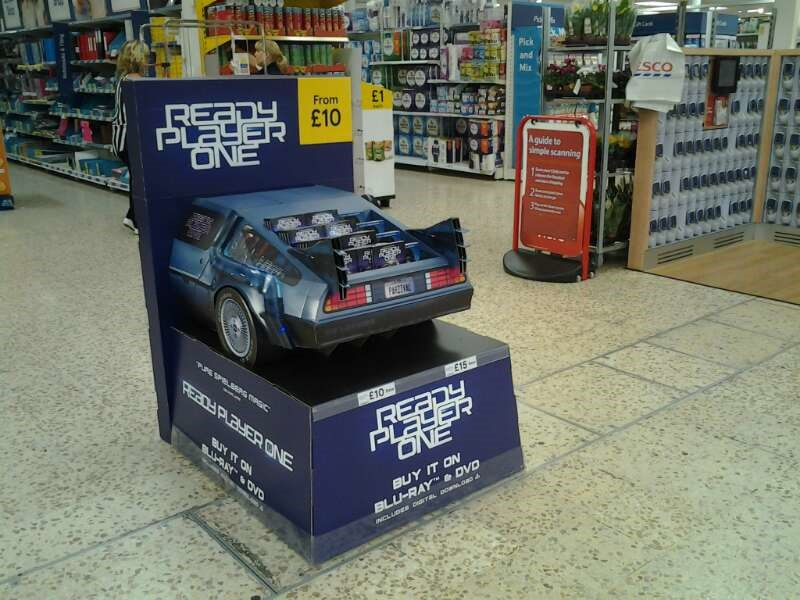 eXPD8 implements merchandising of Ready Player One launch across the UK
