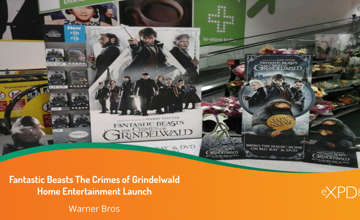 Fantastic Beasts: The Crimes of Grindelwald-Home Entertainment Launch