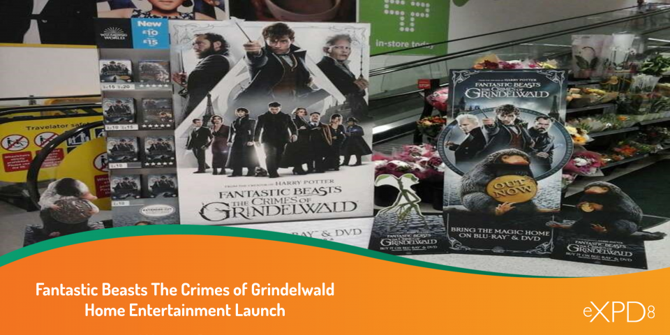 Fantastic Beasts The Crimes of Grindelwald Home Entertainment Launch