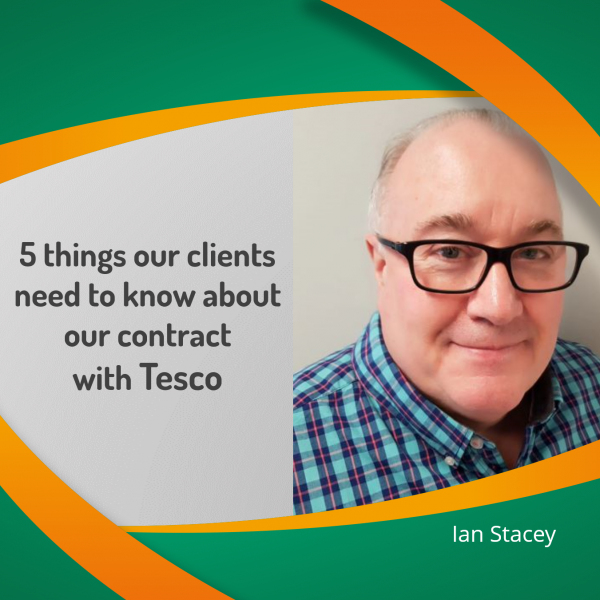 """What our clients need to know about our contract with Tesco"""" & why should clients choose eXPD8 for your Retail Support Solutions"""