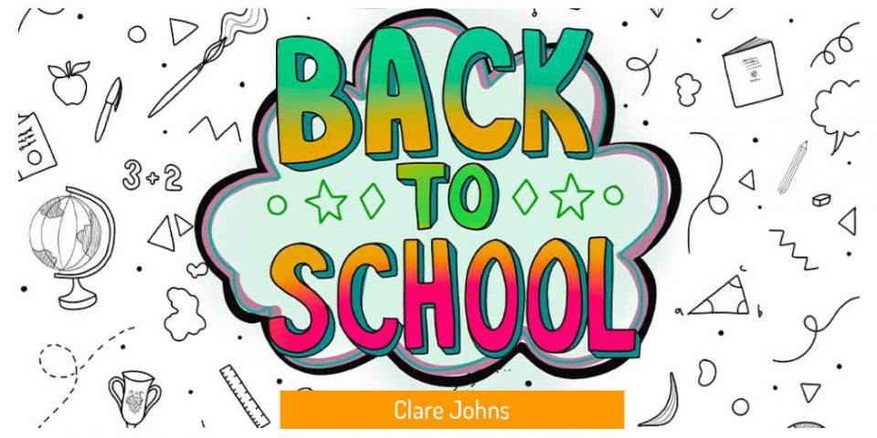 Back To School 2020 Colourful Graphic