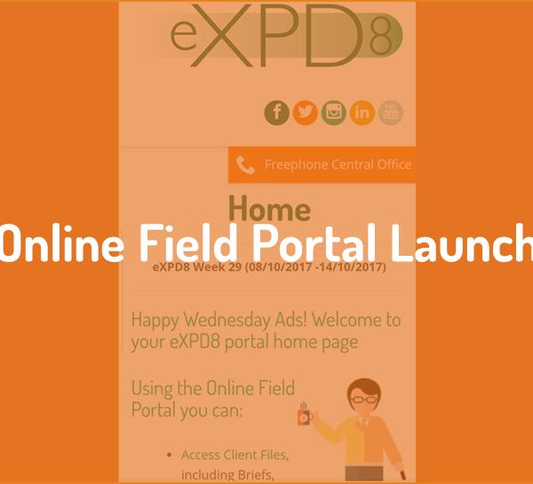 Online Field Portal launch