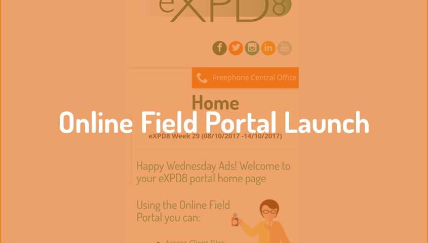 Online Field Portal launch